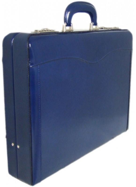 Pratesi Federico da Montefeltro Attach Case 24h in cow leather - Radica Blue