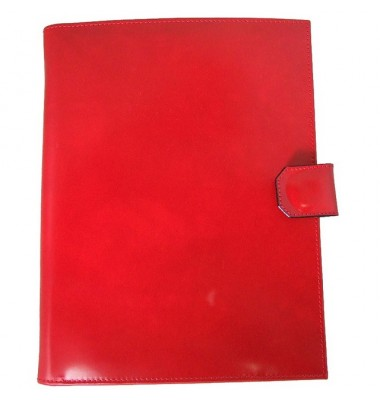 Pratesi Andrea del Sarto R A4 блокнот в коже теленка - Radica Cherry