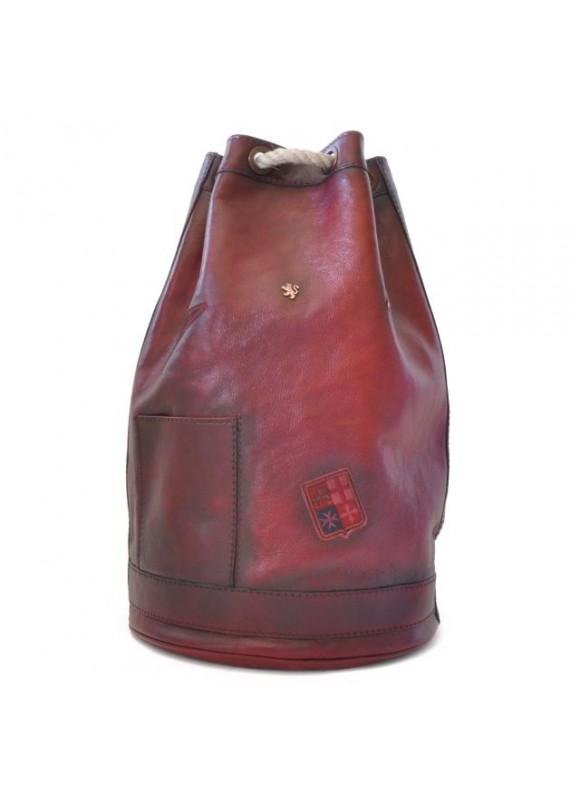 Pratesi Travel Bag Patagonia in cow leather - Bruce Chianti