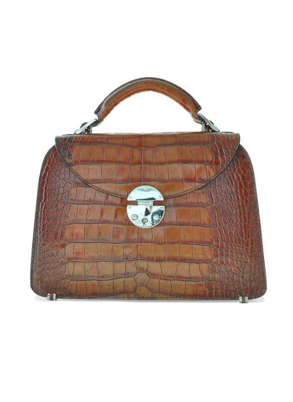 Pratesi Veneziano Small King Handbag in cow leather