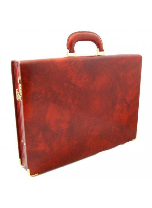 Pratesi Machiavelli Slim Attach Case in cow leather - Radica Brown