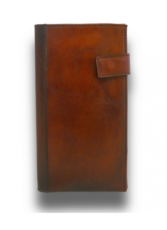 'Pratesi Fiorino d''oro Leather Breast Wallet - Bruce Brown'