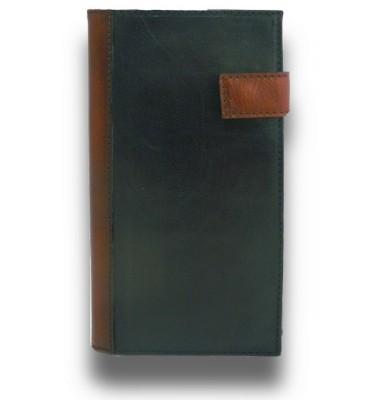 'Pratesi Fiorino d''oro Leather Breast Wallet - BRUCE Black'