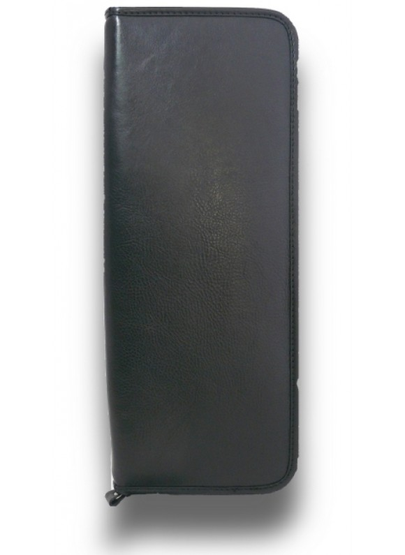 Pratesi Buontalenti Tiecase in cow leather - Bruce Black