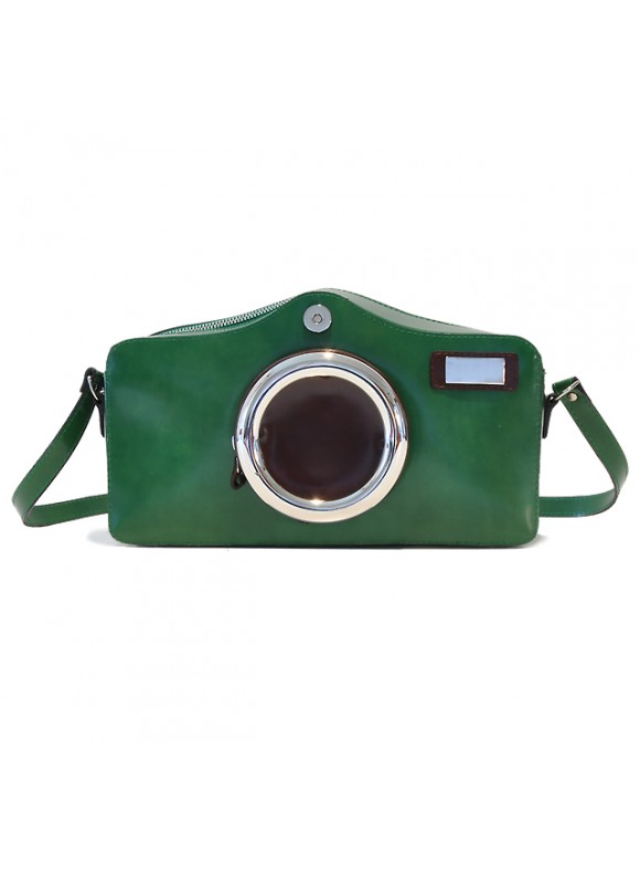 Pratesi Photocamera Radica Shoulder Bag in cow leather - Photocamera Radica Shoulder Bag in cow leather