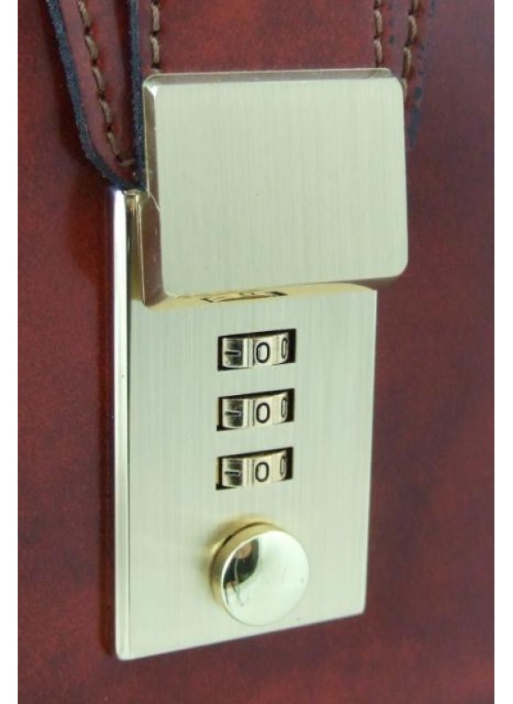 Pratesi Lock for replacement - Lock for replacement brass color