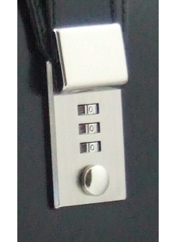 Pratesi Lock for replacement - Lock for replacement nikel color