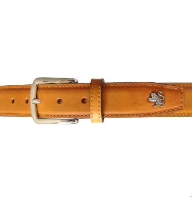 Pratesi Belt in cow leather - Bruce Cognac