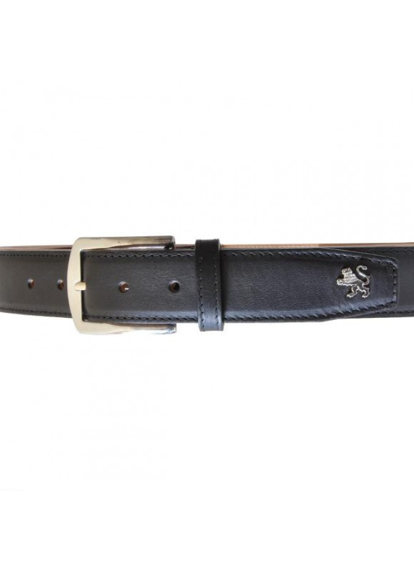Pratesi Belt in cow leather - Bruce Black