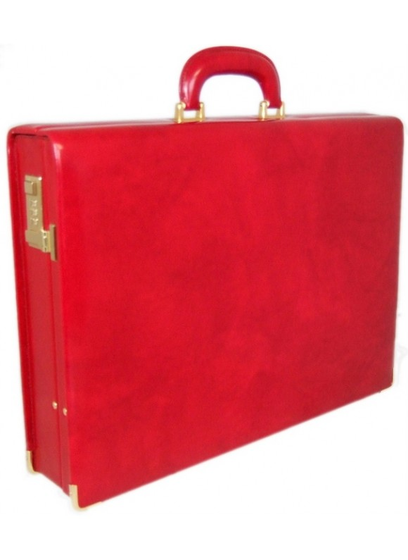 Pratesi Machiavelli Attach Case in cow leather - Radica Cherry