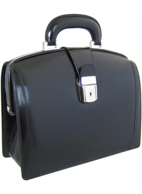 Pratesi Miss Brunelleschi Bag in cow leather - Radica Black