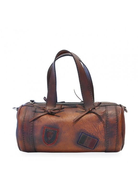 Pratesi Handbag Marisol Small in cow leather - Bruce Brown