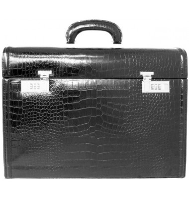 Pratesi Ghirlandaio King Attach Case in cow leather - King Black