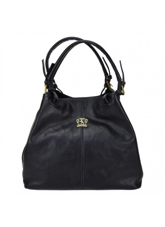 Pratesi Collodi Small Woman Bag in cow leather - Bruce Nero
