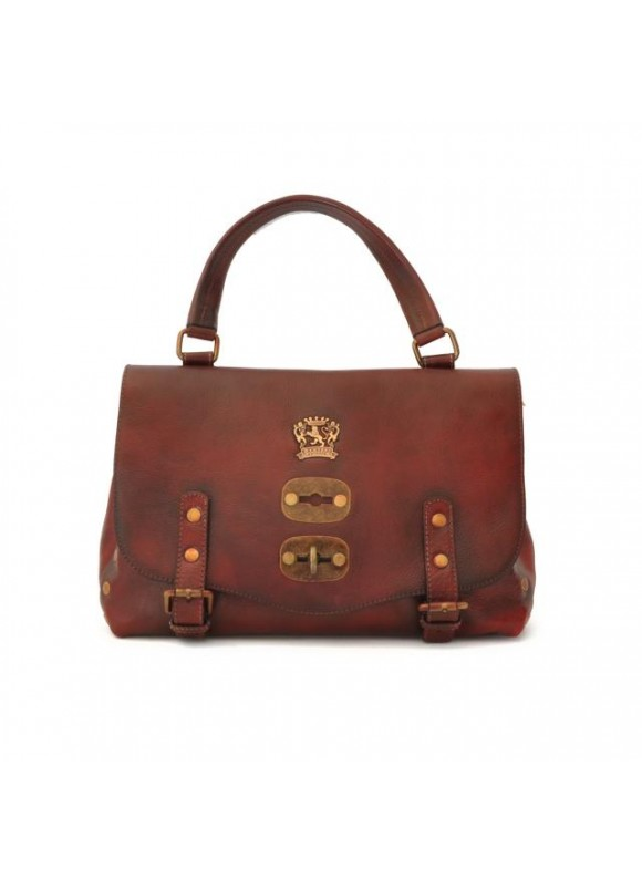 'Pratesi Woman Bag Castell''Azzara Small in cow leather - Bruce Chianti'