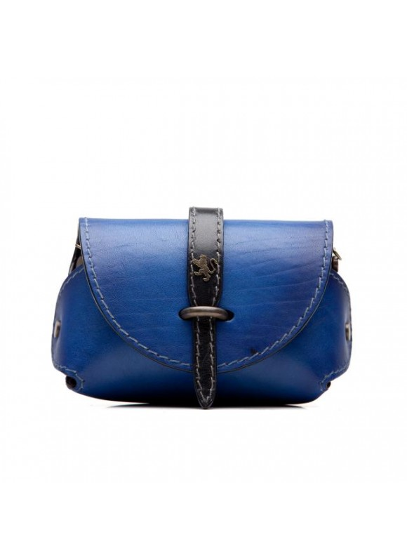 Pratesi Tote Bag Buonconvento in cow leather - Bruce Electric Blue