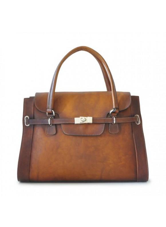 Pratesi Handbag Baratti in cow leather - Bruce Brown