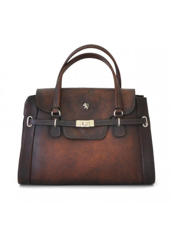 Pratesi Handbag Baratti in cow leather - Bruce Coffee