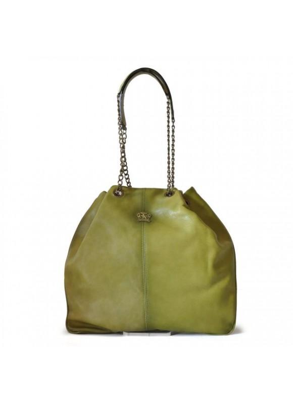Pratesi Shoulder Bag Barga in cow leather - Bruce Green