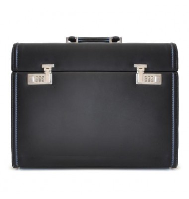 Pratesi Briefcase Ghirlandaio in cow leather - Bruce Black