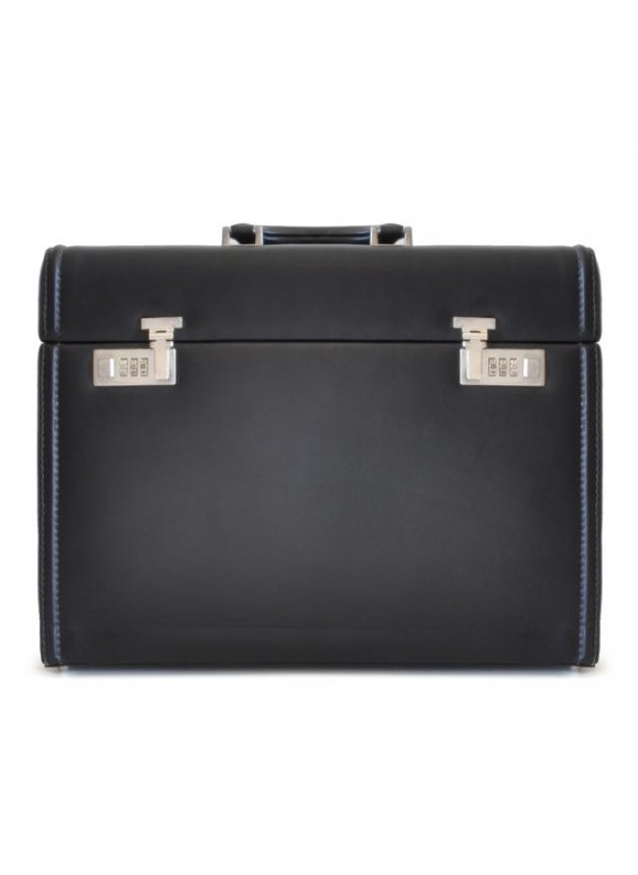 Pratesi Briefcase Ghirlandaio in cow leather - Bruce Black