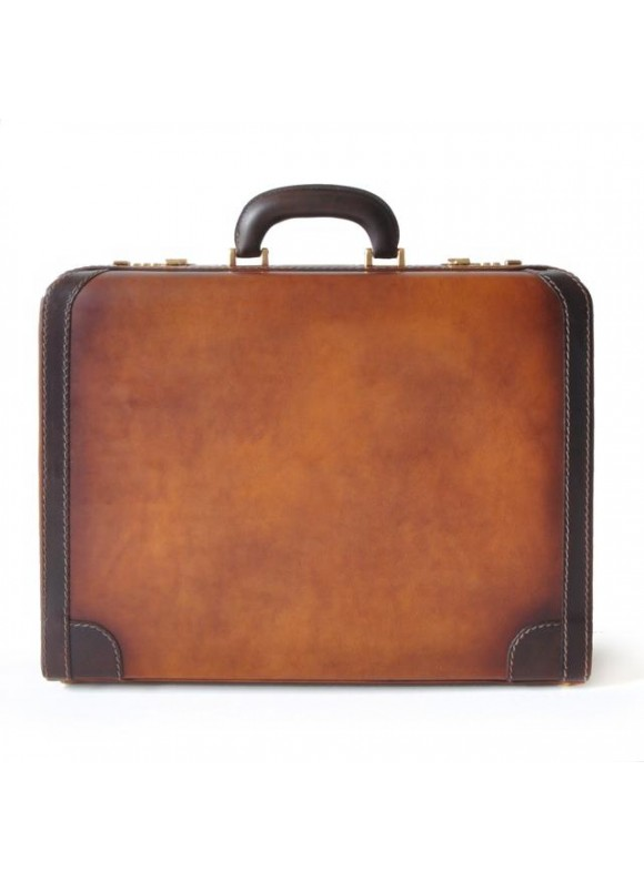 Pratesi Briefcase Tiziano in cow leather - Bruce Brown