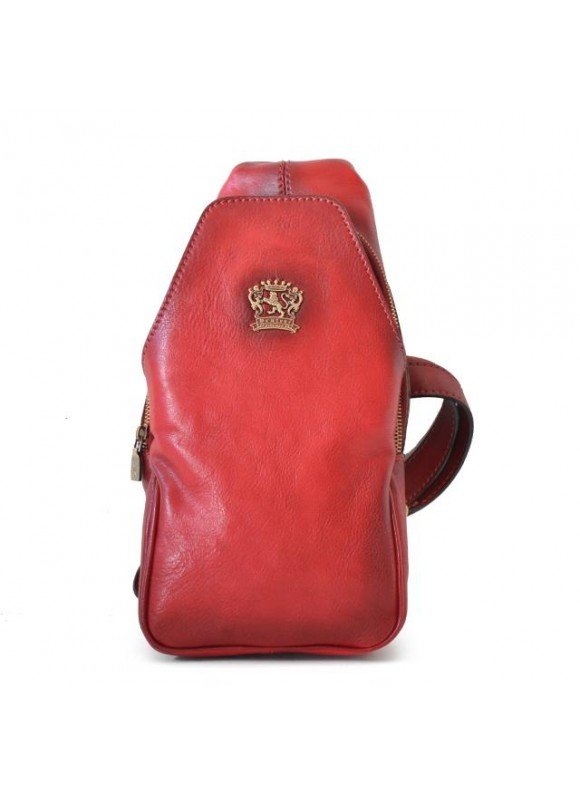 'Pratesi Backpack San Quirico d''Orcia in cow leather - Bruce Cherry'