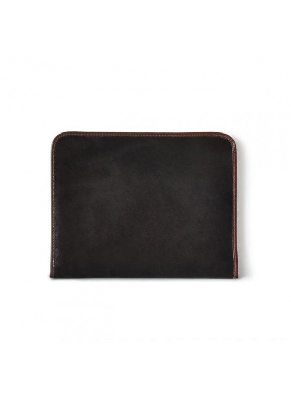 Pratesi Dante Cavallino Notes Holder in real leather - Cavallino Coffee
