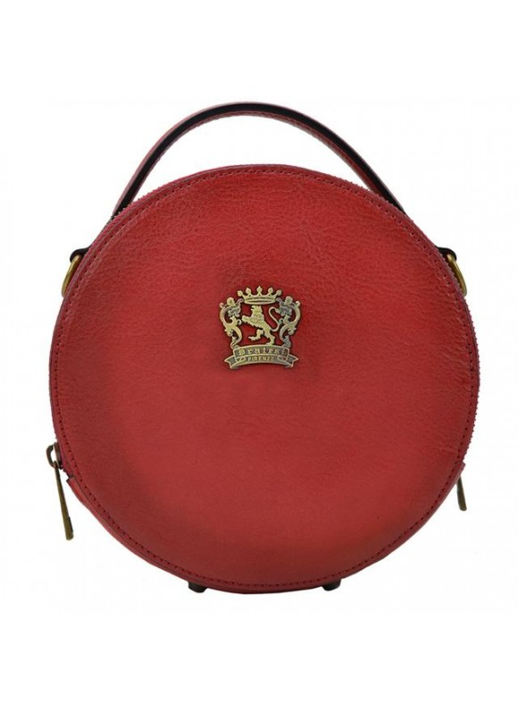 Pratesi Handbag Troghi Bruce in cow leather - Bruce Cherry