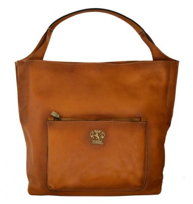 Pratesi Donnini  Woman Bag in cow leather - Bruce Cognac