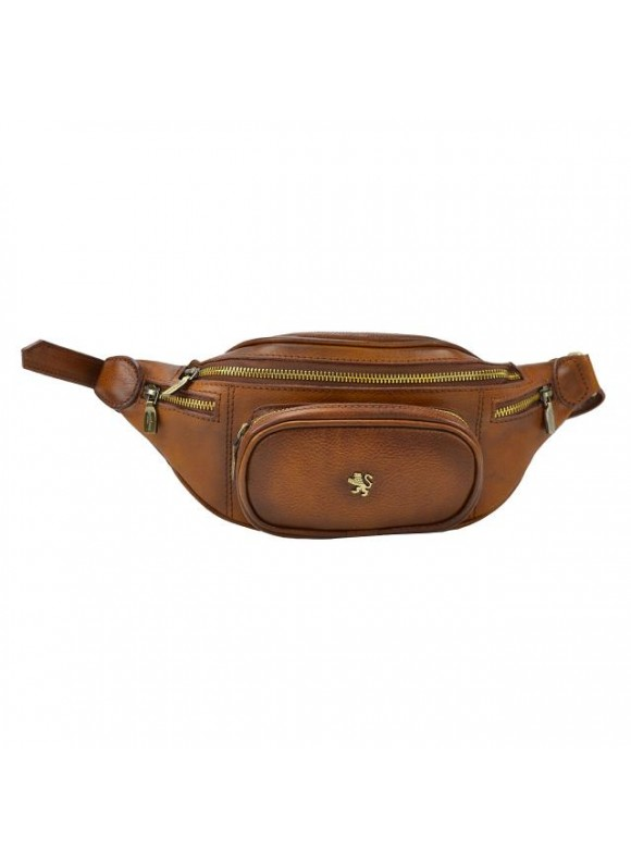 Pratesi Marsupio Bag in real leather - Bruce Brown