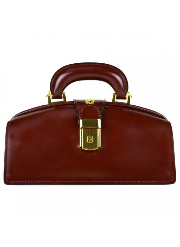 Pratesi Lady Brunelleschi Bag in cow leather - Radica Chianti