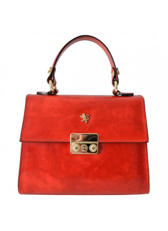 Pratesi Artemisia Lady Bag in cow leather - Radica Cherry