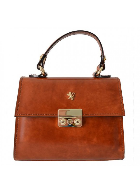 Pratesi Artemisia Lady Bag in cow leather - Radica Brown