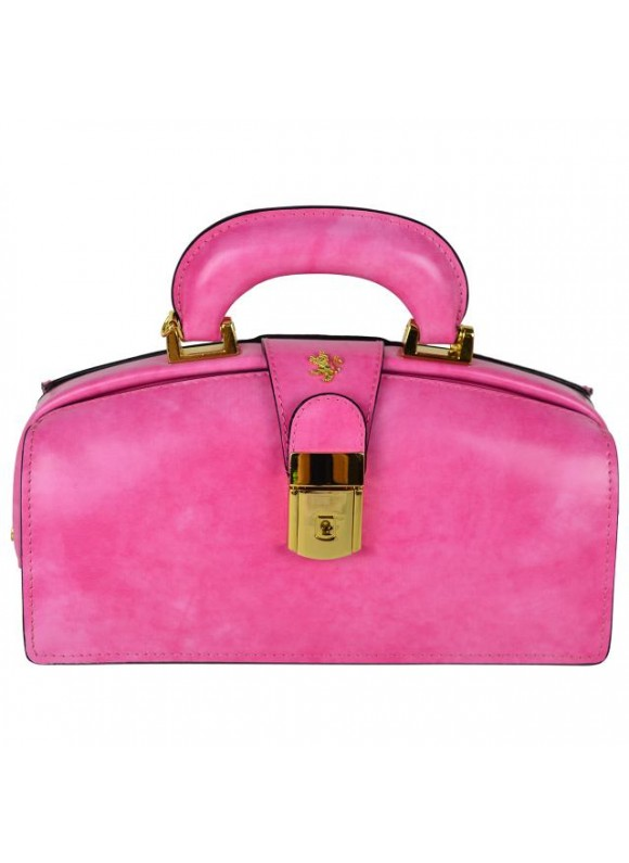 Pratesi Lady Brunelleschi Bag in cow leather - Radica Pink