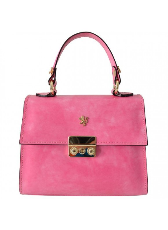 Pratesi Artemisia Lady Bag in cow leather - Radica ROSE