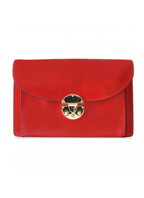 'Pratesi Tullia d''Aragona Santa Croce Lady Bag in real leather - Santa Croce Cherry'
