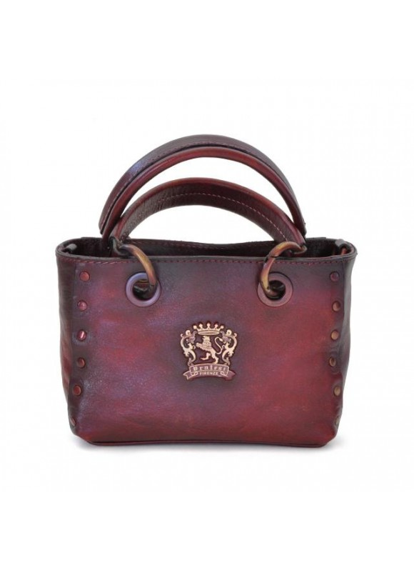 Pratesi Bagnone Lady Bag in cow leather - Bruce Chianti