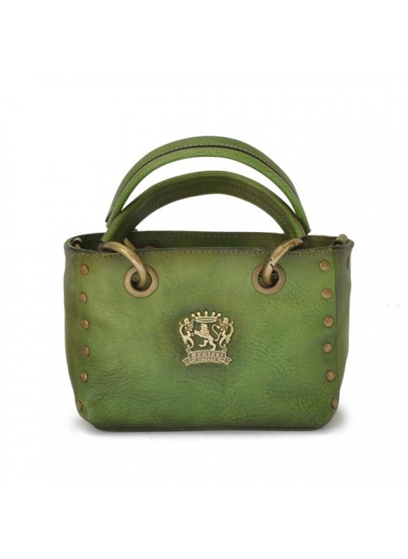 Pratesi Bagnone Lady Bag in cow leather - Bruce Green