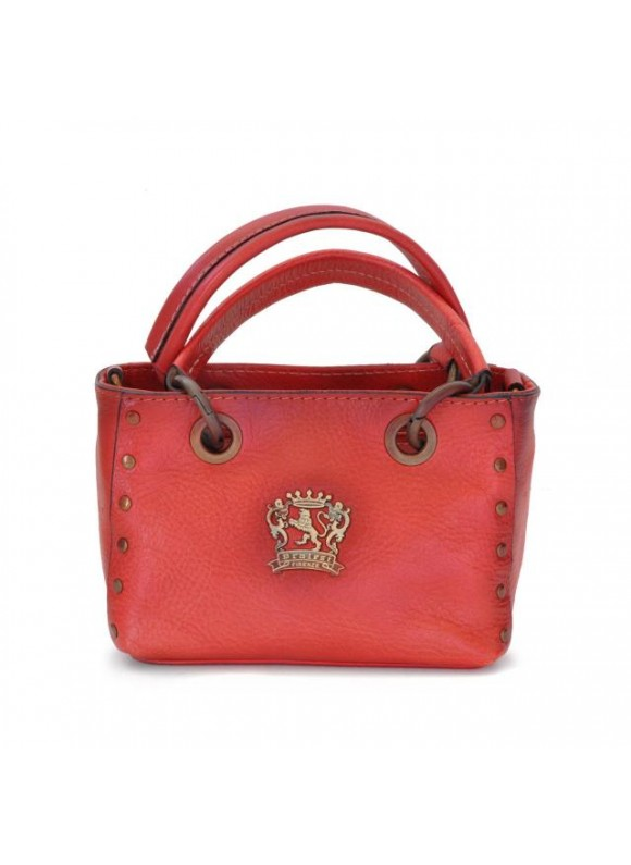 Pratesi Bagnone Lady Bag in cow leather - Bruce Pink