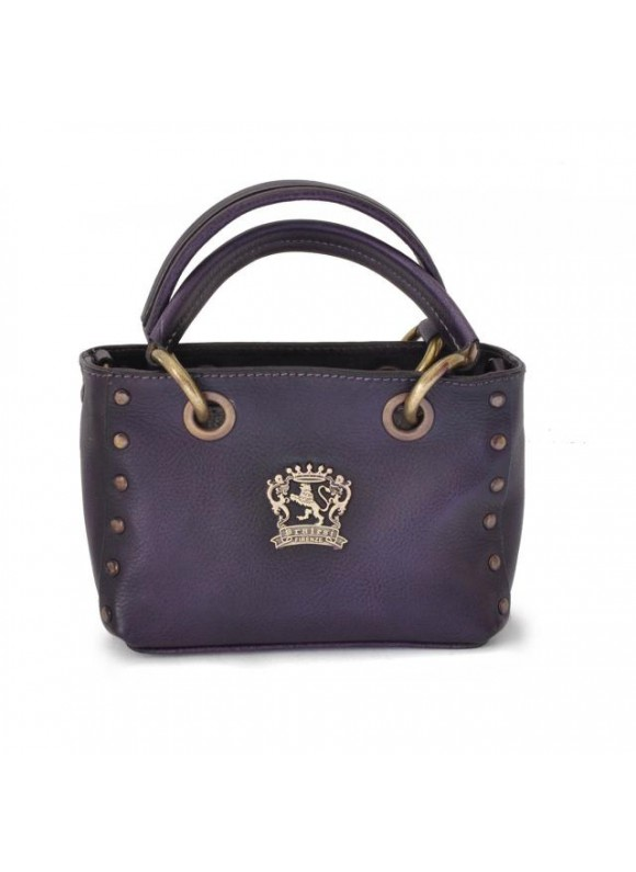 Pratesi Bagnone Lady Bag in cow leather - Bruce Violet