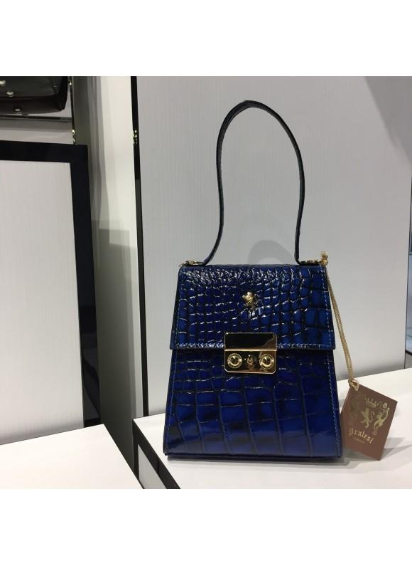 Pratesi Artemisia Piccola Handbag in cow leather - King Blu