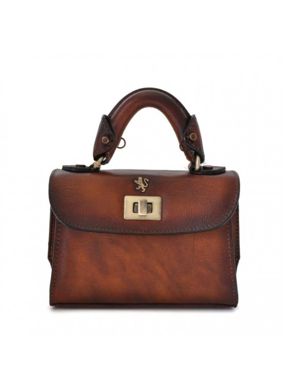 Pratesi Lucignano Small Handbag in cow leather - Bruce Brown