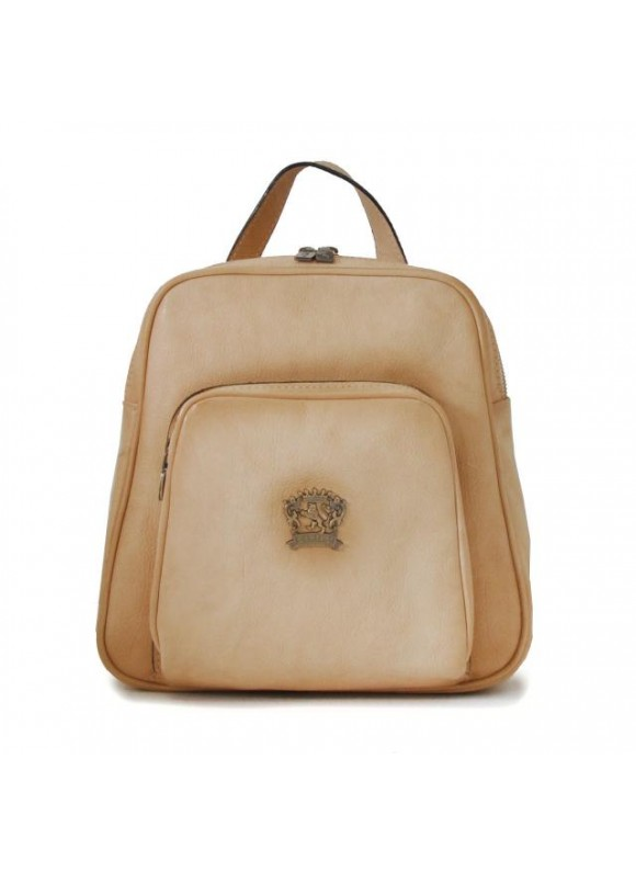 Pratesi Sirmione Backpack in cow leather - Bruce White