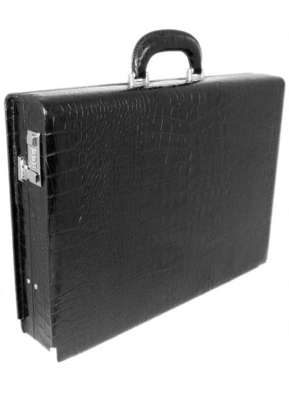 Pratesi Machiavelli Medium King Attach Case 24H in cow leather - King Black