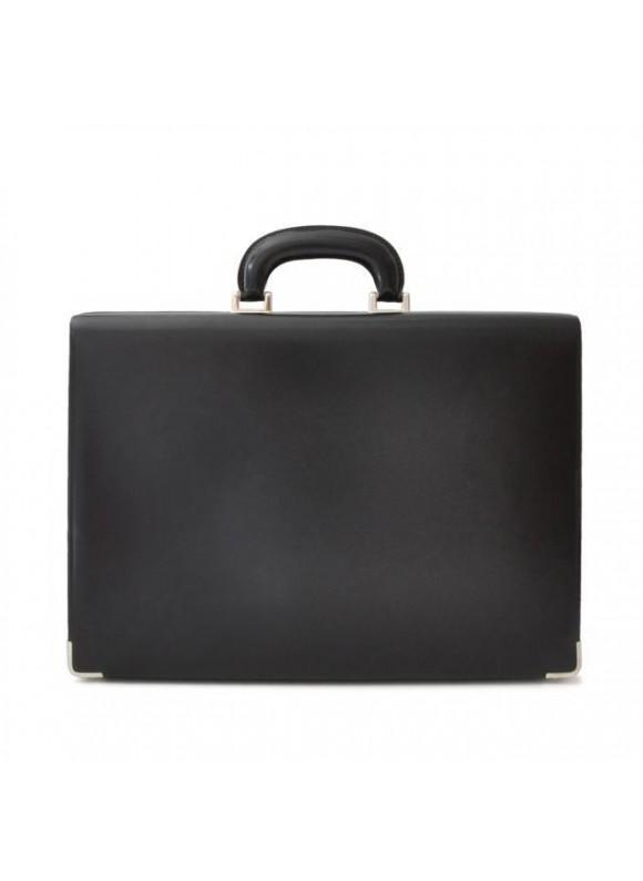 Pratesi Machiavelli Small Attach Case in cow leather - Radica Black