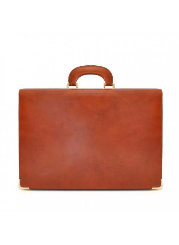 Pratesi Machiavelli Small Attach Case in cow leather - Radica Brown