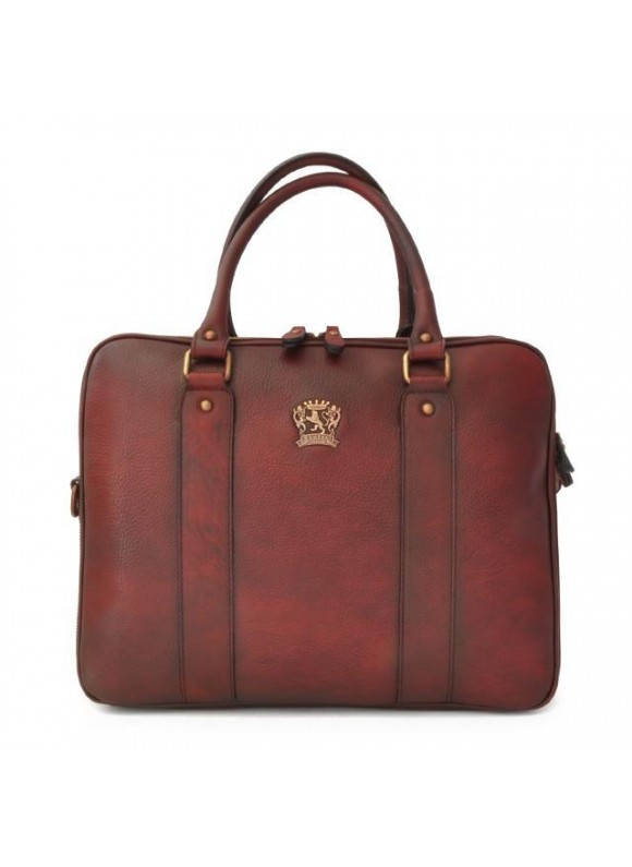 Pratesi Briefcase Magliano in cow leather - Bruce Chianti