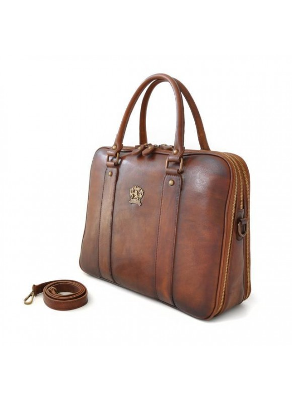 Pratesi Briefcase Magliano in cow leather - Bruce Coffee