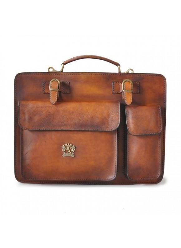 Pratesi Business Bag Milano Small in cow leather - Bruce Brown